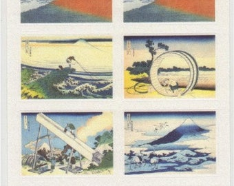 Japanese Ukiyoe Stickers - Paper Stickers - Reference T5172