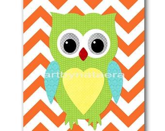 Owl Decor Baby Boy Nursery Print Digital Download Print Printable Nursery Art Instant Download Kids Wall Art Baby Nursery Decor 8x10 11X14