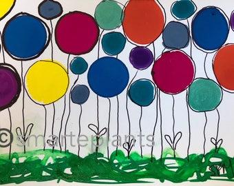 Balloon Flowers