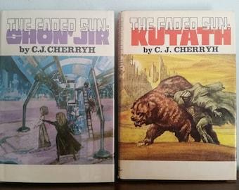 Shon'jir and Kutath, The Faded Sun Trilogy by C J Cherryh, vintage sci fi books