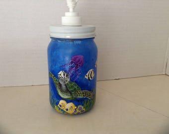 Sea Turtle handsoap / lotion dispenser