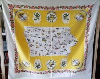 Beautiful Iowa State Tablecloth/Wall Hanging