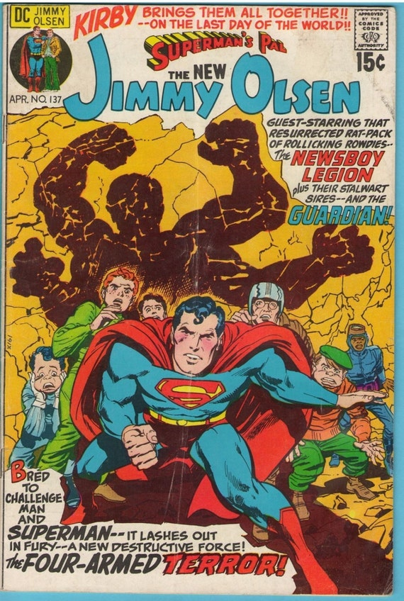 Superman's Pal Jimmy Olsen 137 Apr 1971 VG (4.0)