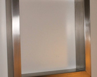 """Elegant Tabel Frames from Stainless Steel (V2A, AISI 304) - 70cm x 73cm (W/H)- 27 1/2"""" x 28 3/4"""" (W/H)"""