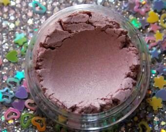 CERELIA ~ metallic pink highlighter makeup, duochrome highlighter makeup, highlighter, pastel pink makeup, Easter gift, makeup gift, vegan