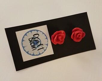 Rose Earstuds Studearrings