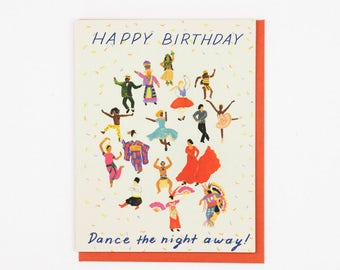 Dancing Birthday Card