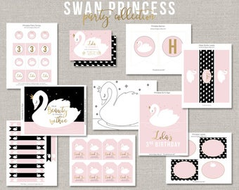 Swan Princess Party Collection - DIY