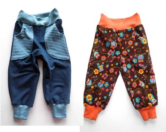FELIX reversible pants, sizes 110–152 (5-12yr) / INSTANT DOWNLOAD