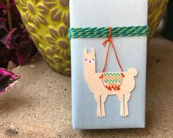 Llama Llove Gift Tag