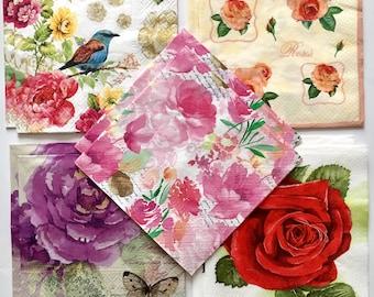 Decoupage napkins, paper napkins for decoupage