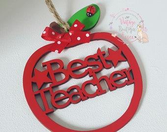 Teachers apples, best teacher gift, end of term gifts