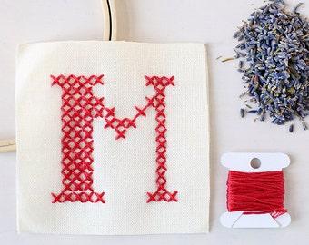 Letter M - Stitch Your Own Sachet Kit