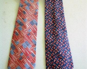 Patriotic Men's Necktie
