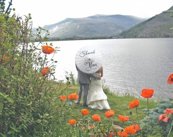 Custom Parasol - Personalized & Hand-painted - Many NEW Colors