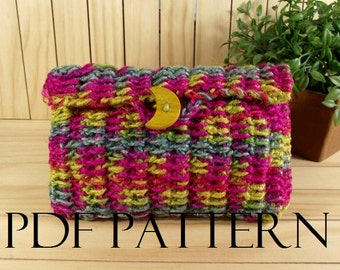 CROCHET BAG PATTERN Crochet Purse Clutch Bag Daiquiri bag Pouch Bag Crochet Bag Pouch pdf pattern Instand Download