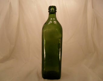 Antique Walker's Kilmarnock whiskey bottle.