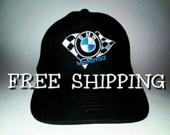 BMW motorrad caps hats embroidered | BMW LOGO hats embroidery caps | Baseball Caps hats biker.