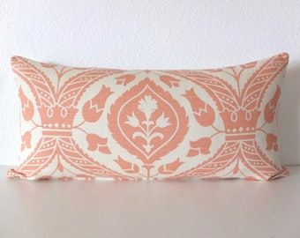 Ballard Designs Holland Apricot Medallion Pillow Cover