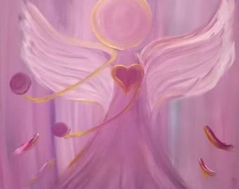 Golden Halo Violet Flame