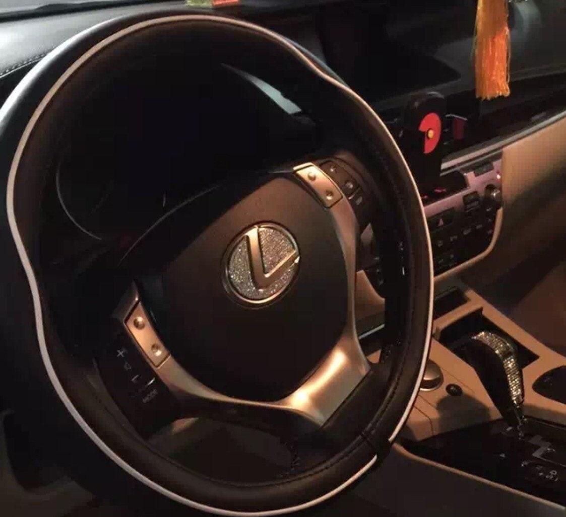 Swarovski Bling Kristall Lenkrad Emblem passen Lexus