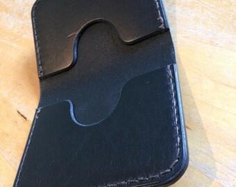 Leather card holder Veg tan card holder Leather wallet Veg tan wallet Wallet Card holder Mens wallet edc edc carry Billfold Ladies wallet