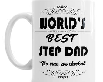 Step Dad Mug - Father's Day Mug - Best Dad Mug - Dad Mug - Mug For Dad - Gift For Him - Birthday Mug - Birthday Gift - Step Dad Gift