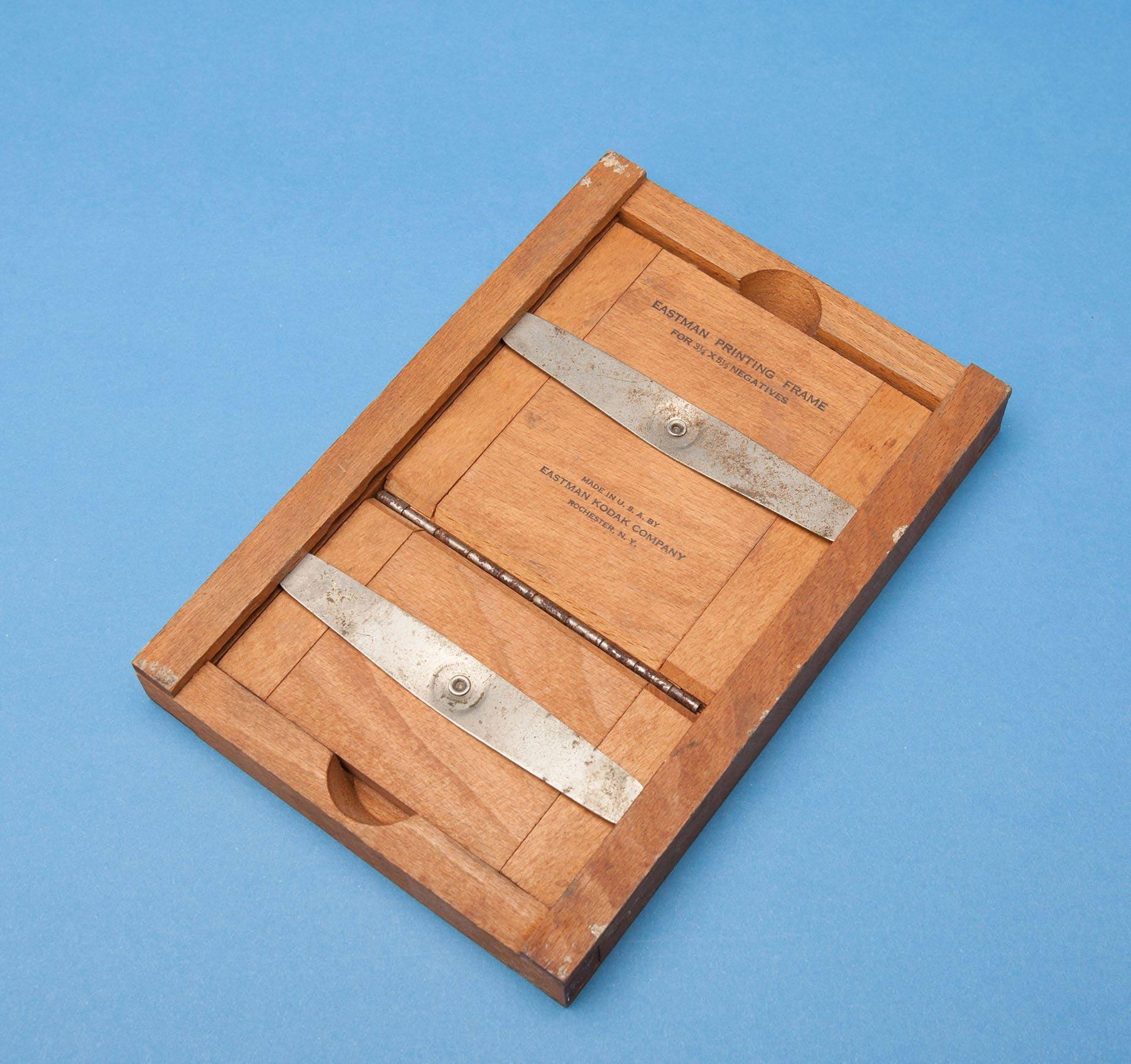 Marco madera vintage de impresión - EASTMAN KODAK - 3 1/4 \