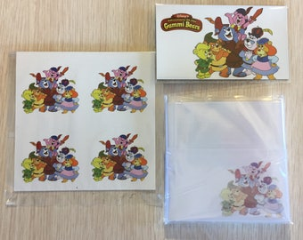 The Adventures of the Gummi Bears Post-Its, Stickers & Magnet (Set)