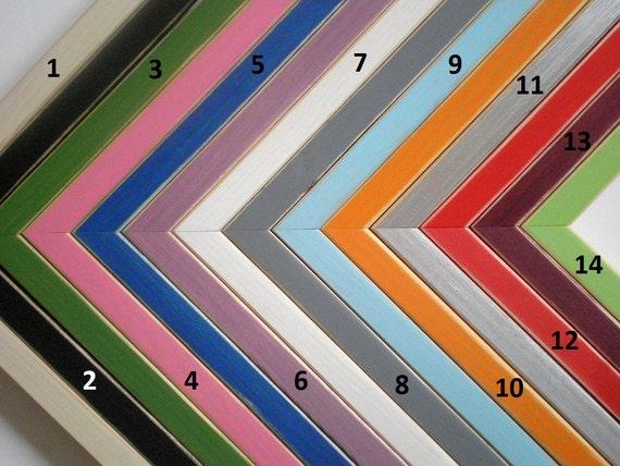 Marcos coloridos imagen marco 10 x 12 foto marco marco de madera los ...