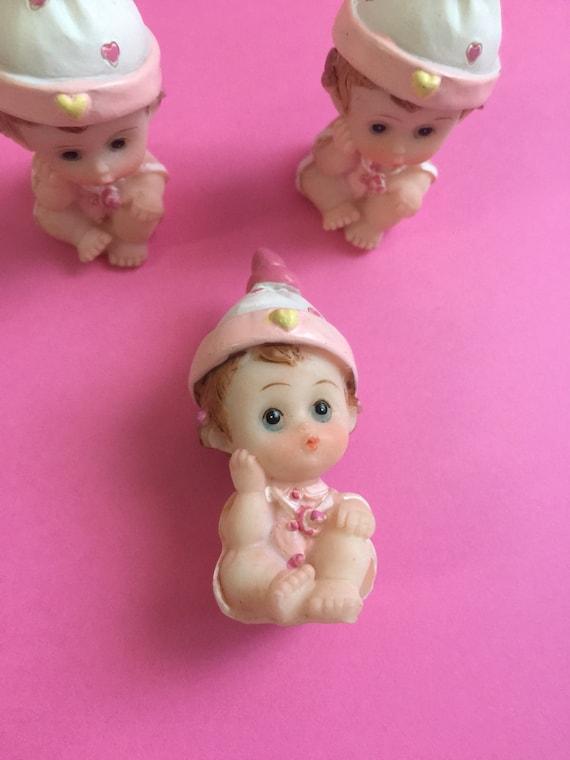 Miniature Figurines, Baby Shower Decor, Shower Baby Doll, Baby Shower Craft  Doll,baby Girl Figurine, Baby Girl Shower Favors,sower Decor From ...