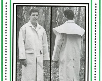 Cowboy Duster - Old West Coat - Men's Sizes M-XXL Eagle's View Sewing Pattern # 53