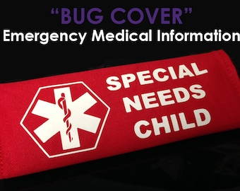 Special Needs Child - Emergency Medical Information Cover - NEW AND IMPROVED