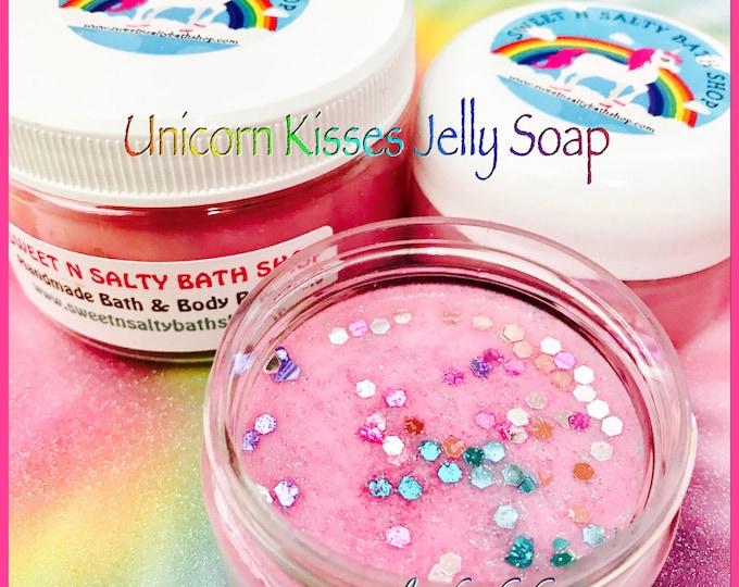 Unicorn Kisses Shimmering Shower Jelly Soap
