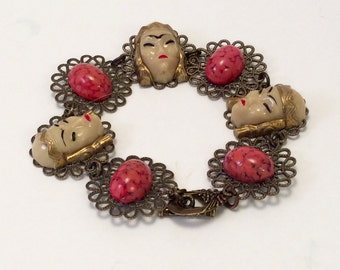 Selro/Selini's  Vintage Asian Princess bracelet