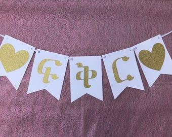Love Banner in Ge'ez