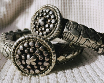 Antique Yemeni Silver Wedding Bracelets