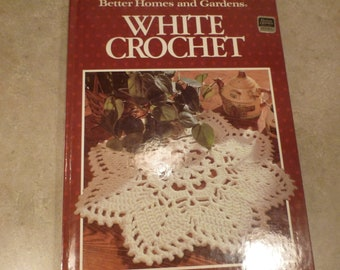 White Crochet Better Homes and Garden Doilies Baby Clothes Tablecloths