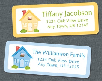 House Address Labels, Open House, New Address,  New Home, Return Address Labels, Address Stickers, Personalized Address Labels, Custom, Home