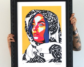 Mother of Hue, Limited Edition signed Artprint