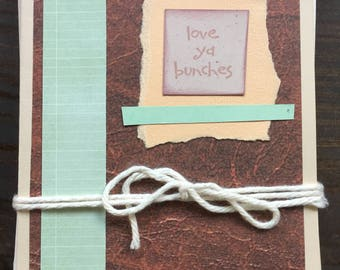 Set of 7 greeting cards with envelopes