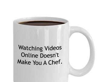 Mugs for chefs. Gift for chefs.
