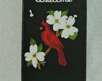 Painted Slate - Cardinal *Personalized No Charge*