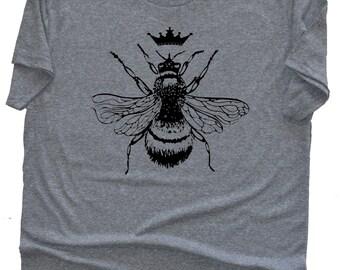 Women's T Shirt for the Queen Bee, Slouchy T-shirt