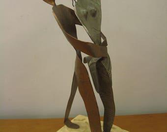 Vintage sculpture dancers