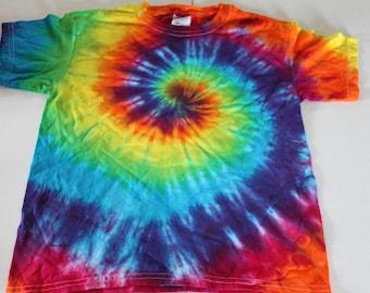 Tie Dye Kids Classic Tee Shirt