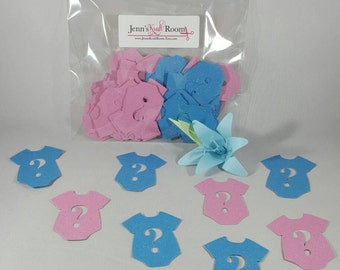 50 Piece Gender Reveal Confetti