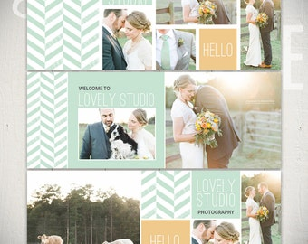 Facebook Timeline Cover Templates: Lovely Studio - 3 Facebook Covers