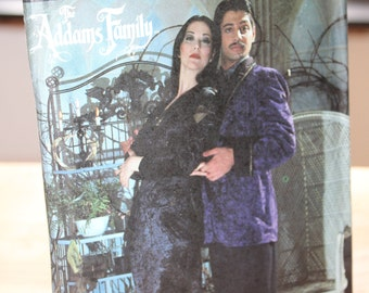 Simplicity 7990 Gomez and Morticia  Costume Pattern -- The Addams Family -- Adult XS to L -- Uncut -- 1992