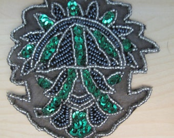 Assorted Lot of 7 Expo Sequin Badge/Medal Appliques